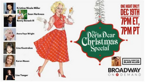 BWW Review: THE DORIS DEAR CHRISTMAS SPECIAL Live (Online) From The TRIAD Brims With Holiday Cheer