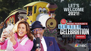 NBC Welcomes the Year With THE ROSE PARADE'S NEW YEAR'S CELEBRATION PRESENTED BY HONDA