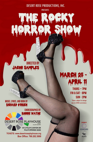 The Desert Rose Playhouse to Present THE ROCKY HORROR SHOW This March