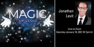 Irvine Barclay Theatre Presents Livestream Event MAGIC UP CLOSE
