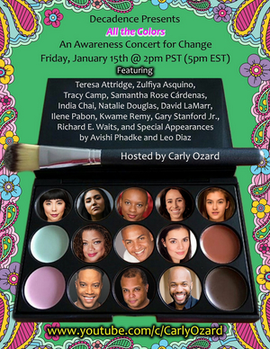 BWW Previews: Carly Ozard Presents VOICES OF COLOR: All the Colors Online Concert January 15th