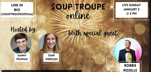 VIDEO: Robbie Rozelle Makes Guest Appearance on SOUP TROUPE ONLINE