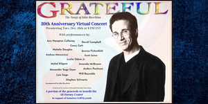 GRATEFUL, THE SONGS OF JOHN BUCCHINO 20TH ANNIVERSARY CONCERT to Have Encore Performance Featuring Leslie Odom Jr., Stephen Schwartz, and More