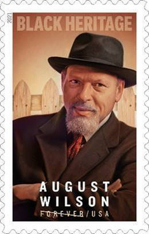 The U.S. Postal Service to Honor August Wilson With a Commemorative Forever Stamp in the Black Heritage Series