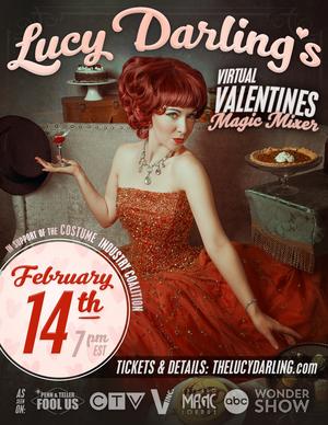 LUCY DARLING Presents VIRTUAL VALENTINES MAGIC MIXER