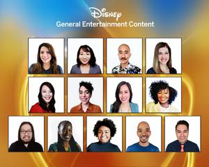 Disney General Entertainment Content Writing Program Names 2021 Participants