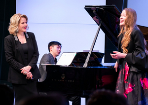 Renée Fleming Leads Third Year of SongStudio Workshop for Young Singers