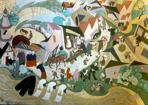 'Painted Poetry: Alexander Gassel' Opens at Museum of Russian Icons