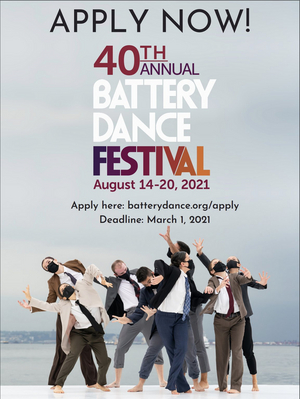Battery Dance Now Accepting Applications for 40th Annual Battery Dance Festival