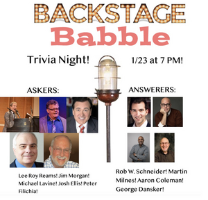 Lee Roy Reams, Peter Filichia and More Will Take Part in Backstage Babble Trivia Night!