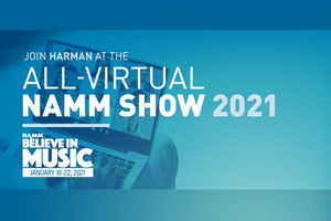 HARMAN Professional Solutions Announces Special Guests and Exclusive Events for Virtual 2021 NAMM Show
