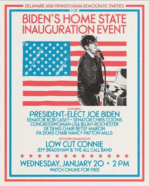 Low Cut Connie to Perform at Joe Biden Inauguration Celebration