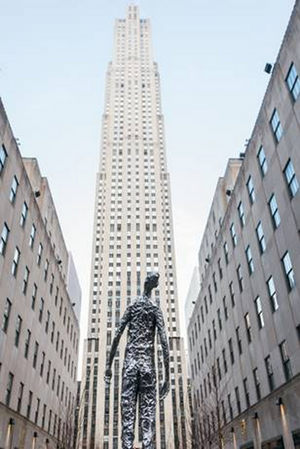 Tom Friedman's 10-Foot Tall Sculpture LOOKING UP to be Displayed at Rockefeller Center