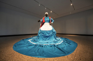 New Mary Sibande Installation At U-M Museum Of Art Reimagines Story Of South Africa's Domestic Workers