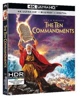 THE TEN COMMANDMENTS Debuts on 4K Ultra HD March 30th