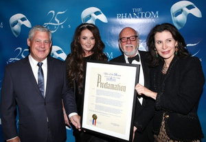VIDEO: On This Day, January 26- NYC Celebrates THE PHANTOM OF THE OPERA Day!