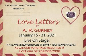 Las Vegas Little Theatre Resumes Live Performances With LOVE LETTERS