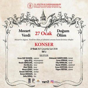 Opera Bale İstanbul Presents Concert Dedicated to Mozart's Birth and Verdi's Death