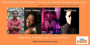 Mark DeGarmo Dance Broadcasts its Virtual Salon Performance Series for Social Change 2020-2021