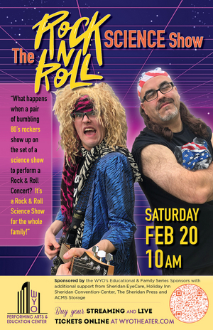 WYO Presents THE ROCK & ROLL SCIENCE SHOW