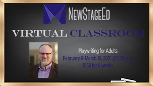 New Stage Theatre Hosts Playwriting for Adults with Joe Frost
