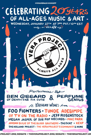 The Vera Project Presents Viva Vera 20! Celebrating Two Decades of All-Ages Music, Art and Activism