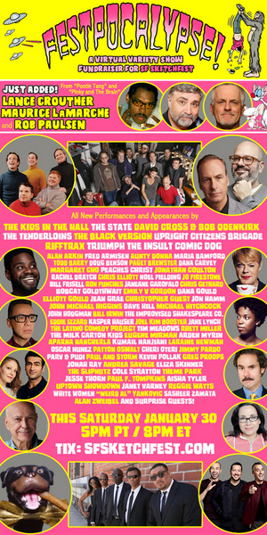 'Weird Al' Yankovic, Rachel Dratch, Jon Hamm, Jane Lynch & More to Take Part in SF Sketchfest's FESTPOCALYPSE