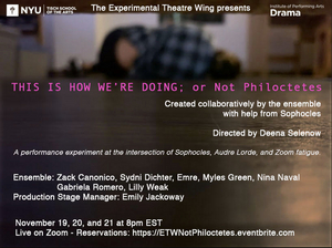 BWW Blog: Devising Theatre in Zoom School©