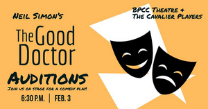 Bossier Parish Community College Theatre Announces Auditions For THE GOOD DOCTOR
