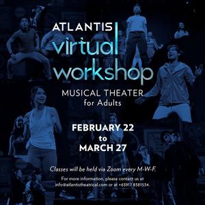 Atlantis Theatrical Announces Virtual Workshop for Adults