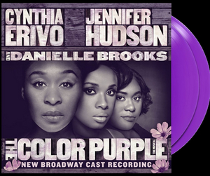 Limited Edition Double Record Vinyl Set of THE COLOR PURPLE Out Today