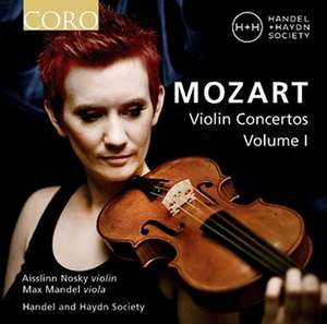 Handel and Haydn Society Releases New Collection of Mozart's Violin Concertos