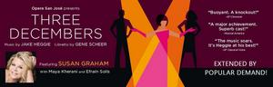 Opera San José Extends Stream of THREE DECEMBERS