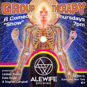 Group Therapy Comedy Outdoor Show to Take Place at Alewife Sunnyside