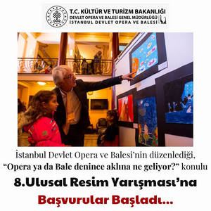 Opera Bale İstanbul Opens Applications For Children's Painting Competition