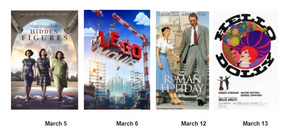 Segerstrom Center for the Arts Announces March Movies on the Argyros Plaza