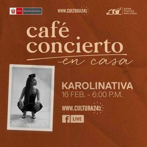Gran Teatro Nacional Presents Café Concerto With Karolinativa