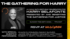 Common, Danny Glover & More To Celebrate Harry Belafonte's 94th Birthday
