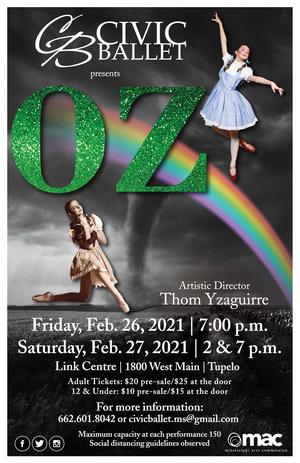 Civic Ballet Presents OZ