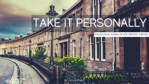 BWW Blog: Take It Personally