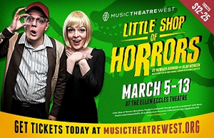LITTLE SHOP OF HORRORS Comes to the Eccles Theatre