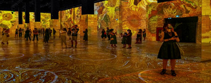 IMMERSIVE VAN GOGH Exhibition in Los Angeles Extended to January 2022