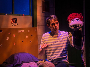 BWW Review:  ROBERT ASKINS' HAND TO GOD-BOLDLY GOES WHERE YOUR CHILDRENS' PUPPET SHOW NEVER SHOULD GO at JOBSITE THEATER