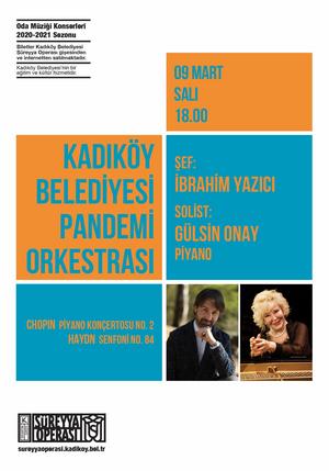 Kadikoy Belediyesi's Pandemic Orchestra Will Present a Concert