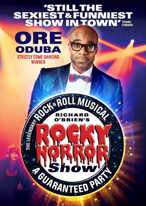 Ore Oduba Will Lead UK Tour of THE ROCKY HORROR SHOW
