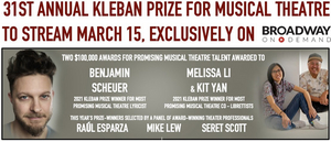 Annual Kleban Prize For Musical Theatre Ceremony To Stream On Broadway On Demand