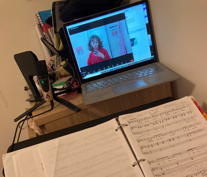 Student Blog: A Day in the Life of a Northwestern University Music Theatre student – Covid Edition