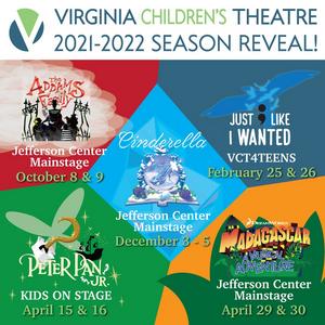 Virginia Children's Theatre Announces 2021-2022 Season