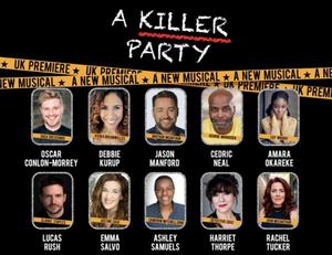 Rachel Tucker, Oscar Conlon-Morrey, Debbie Kurup, Jason Manford & More Announced for A KILLER PARTY UK Premiere
