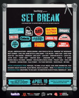 Backline Announces 'Set Break' Livestream Event